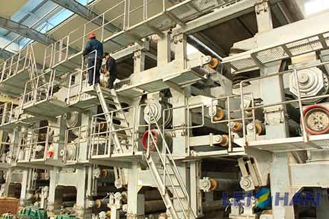 150T-18H-Kraft-Packing-Paper-Machine