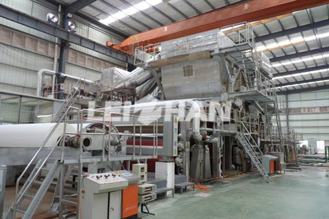 Living Paper Making Machine