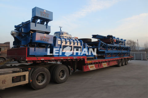 220T packaging paper pulping machinery