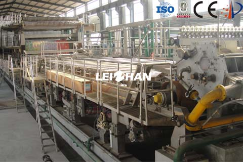 2640 high-strength corrugated paper machine