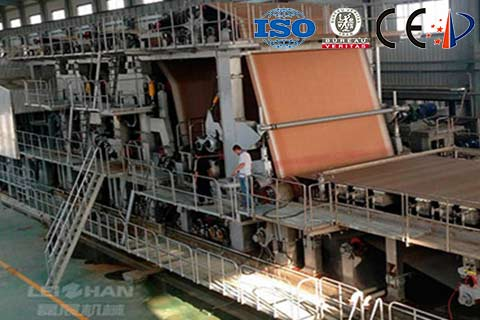 2800mm-Duplex-Board-Paper-Making-Machine