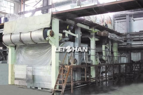 2950mm cylinder mould toilet paper machine