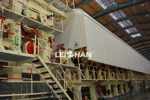 3200mm fluting paper machine