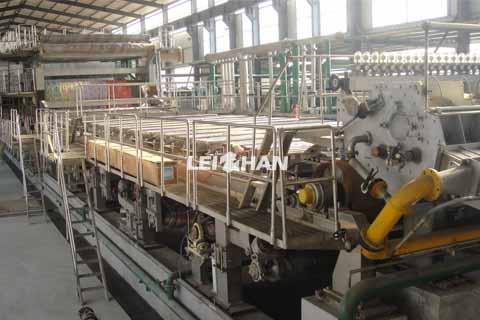3400 corrugated paper machine