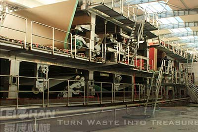 4400-300-Double-Layer-Multi-Cylinder-Fluting-Paper-Machine