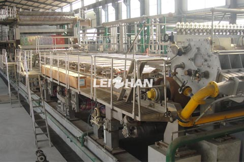 4400mm corrugating medium machine