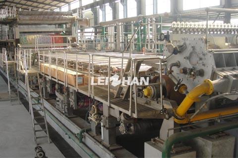 4400mm corrugating medium machine