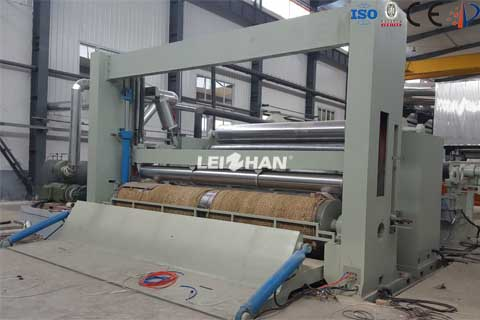 5500mm overfeed rewinder