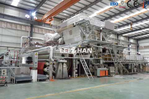 5500mm tissue paper machine