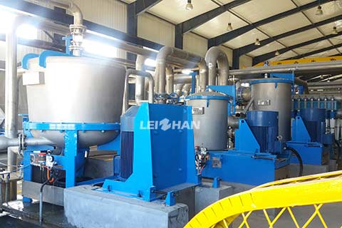 Coarse Screen & Fractionating Screen of Waste Paper Pulp