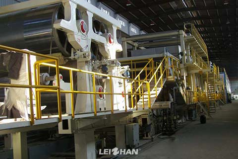 Coating-Board-Paper-Machine-Structure