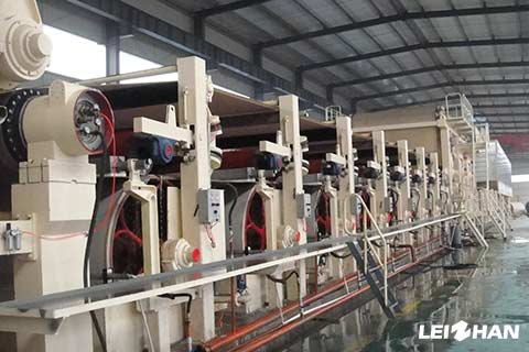 Cylinder-Mould-Type-Tube-Paper-Machine