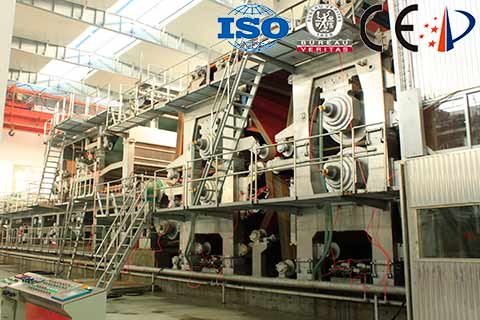 Double-Wire-Cardboard-Paper-Machine-Press-Section