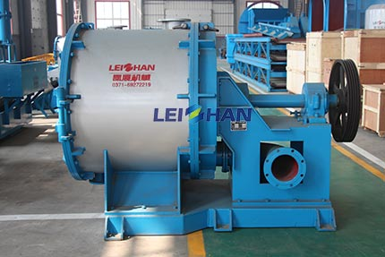 Single-Effect-Fiber-Separator-For-Impurities