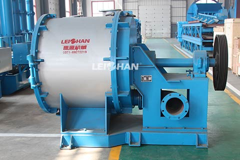 Single-Effect-Fiber-Separator-for-Waste-Paper-Pulp