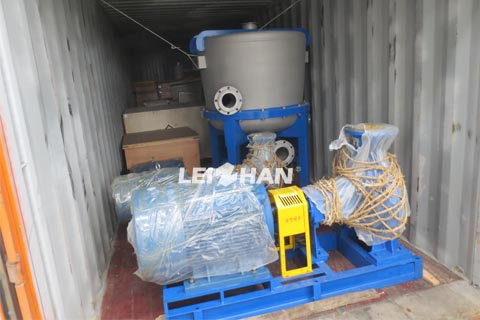 delivery site for Argentine customer