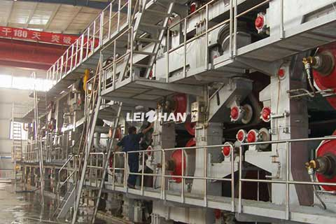 drying-section-of-paper-machine