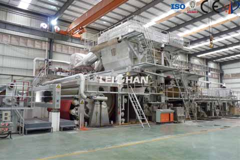 high-speed tissue machine