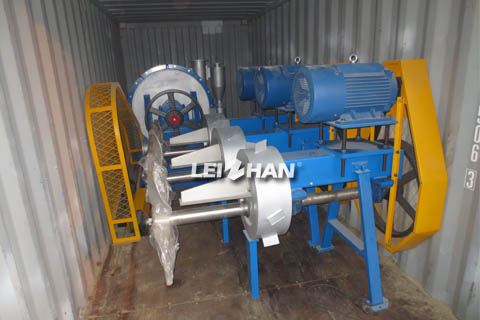 pulping equipment export to Malaysia