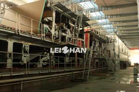 testliner paper machine